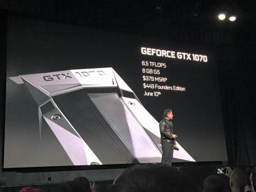 NVIDIA Announces GTX 1080 for $599 and GTX 1070 for $379, Faster than SLI 980's dreamhack, gtx 1080, Nvidia, pascal 2