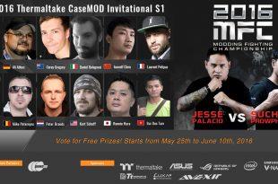 2016 Thermaltake CaseMOD Invitational Season 1 Voting Event Now Live!