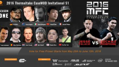 Photo of 2016 Thermaltake CaseMOD Invitational Season 1 Voting Event Now Live!