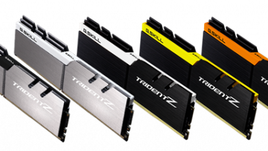 Photo of G.SKILL Has 5 New Color Schemes for Trident Z Series DDR4 Memory