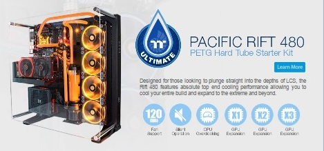 Photo of Thermaltake Launches the TT Premium Core P5 LCS Page with Hard Pipe Kits