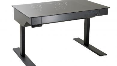 Lian Li Unveiling New Desk, PC-O10, and New Armorsuit Chassis at Computex 2016 armorsuit, Case, Computex, ebonsteel, Lian Li 9