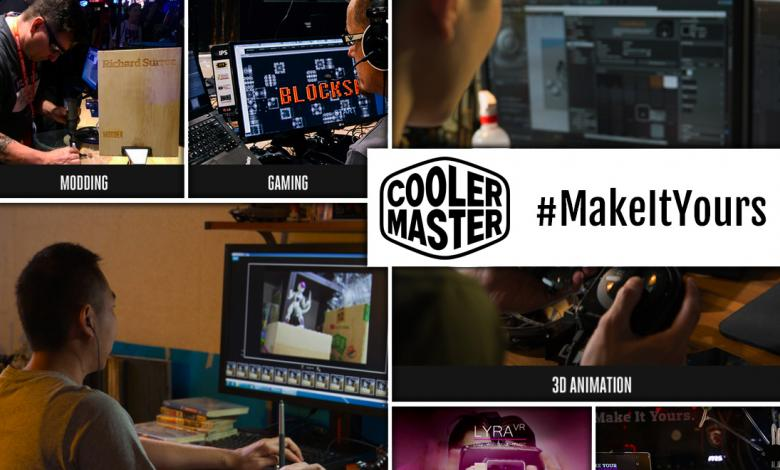 """Photo of Cooler Master Promotes Creativity with Latest """"Power Your Passion"""" and #MakeItYours Campaign"""