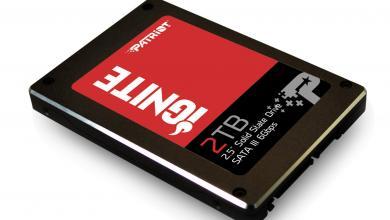 Patriot Announces 2TB Ignite SSD 2TB