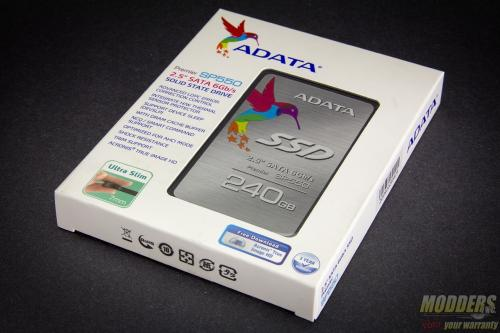 ADATA SP550 SSD Packaging