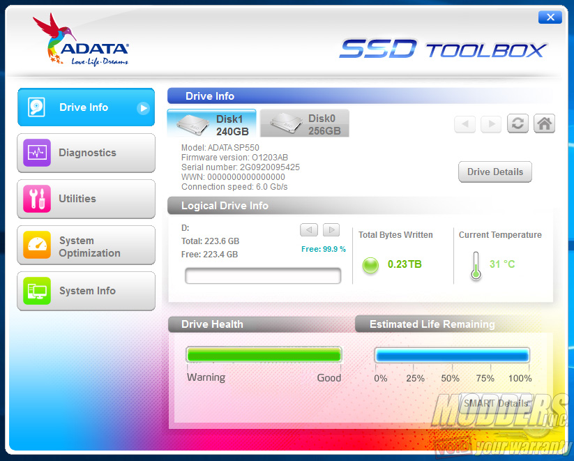 ADATA SP550 240GB SATA SSD Review: $0 25-per-GB Reality