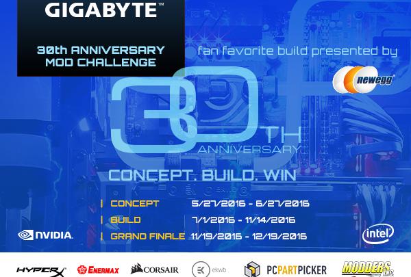 Photo of GIGABYTE 30th Anniversary Mod2Win Modding Challenge