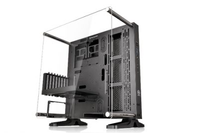 Thermaltake Core P3 ATX Wall Mount Panoramic Viewing LCS Chassis-Fully Modular Concept