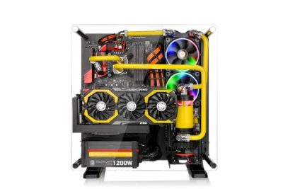Thermaltake Core P3 ATX Wall Mount Panoramic Viewing LCS Chassis_3