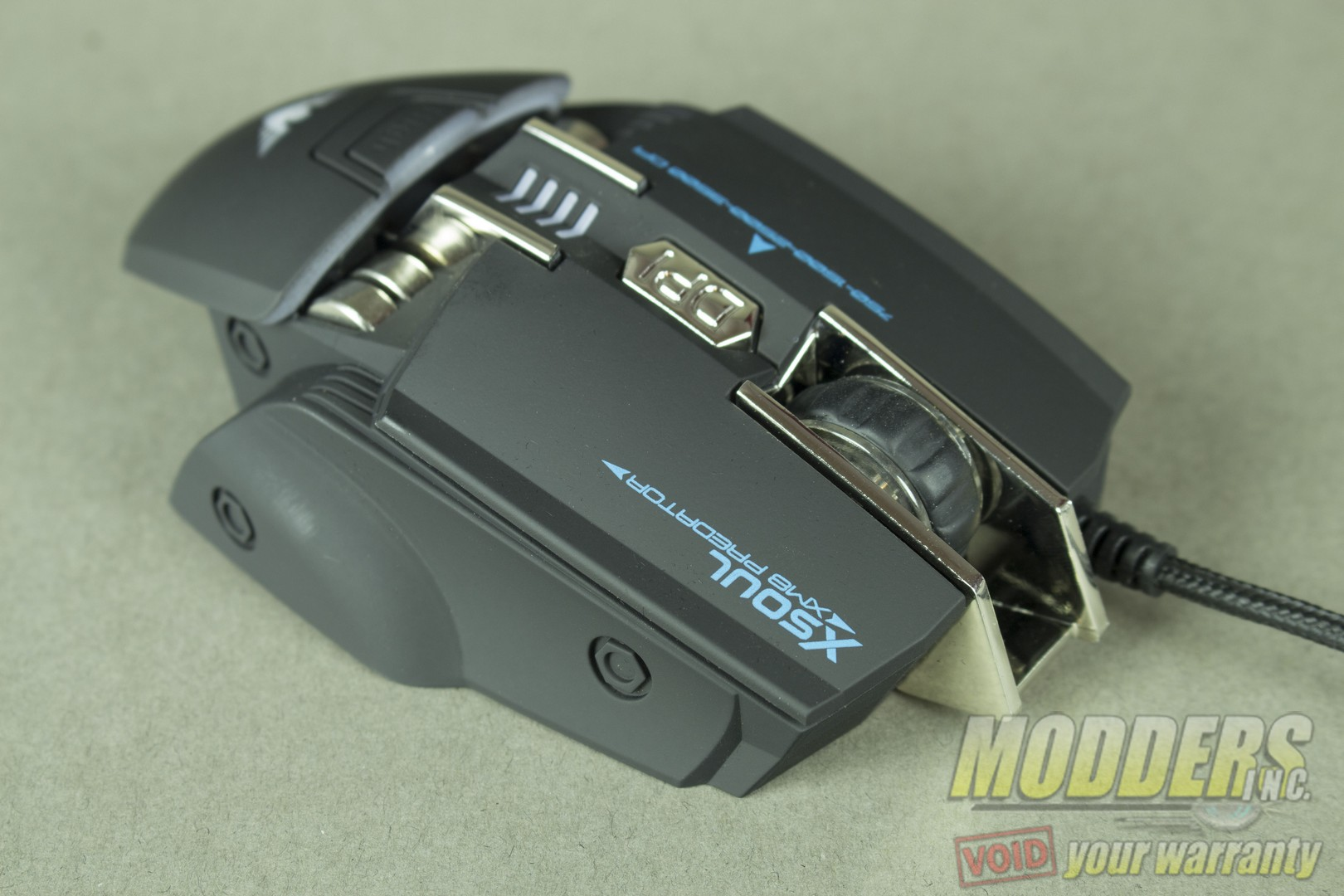 Xsoul Xm8 Predator Gaming Mouse Review Modders Inc Razer Ouroboros Black