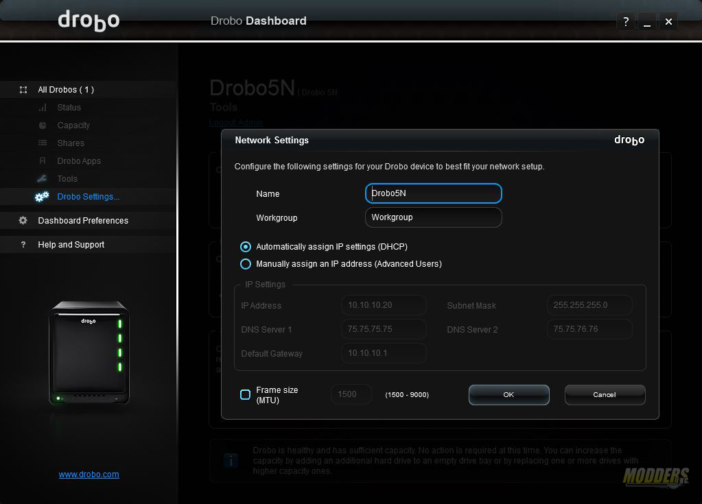Drobo 5N review: Protection with BeyondRAID BeyondRAID, Drobo 5N, NAS, Storage 12