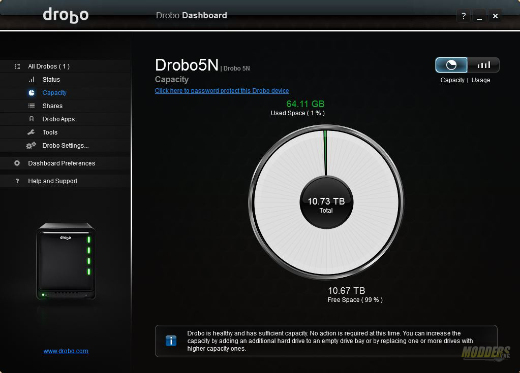 Drobo 5N review: Protection with BeyondRAID BeyondRAID, Drobo 5N, NAS, Storage 6