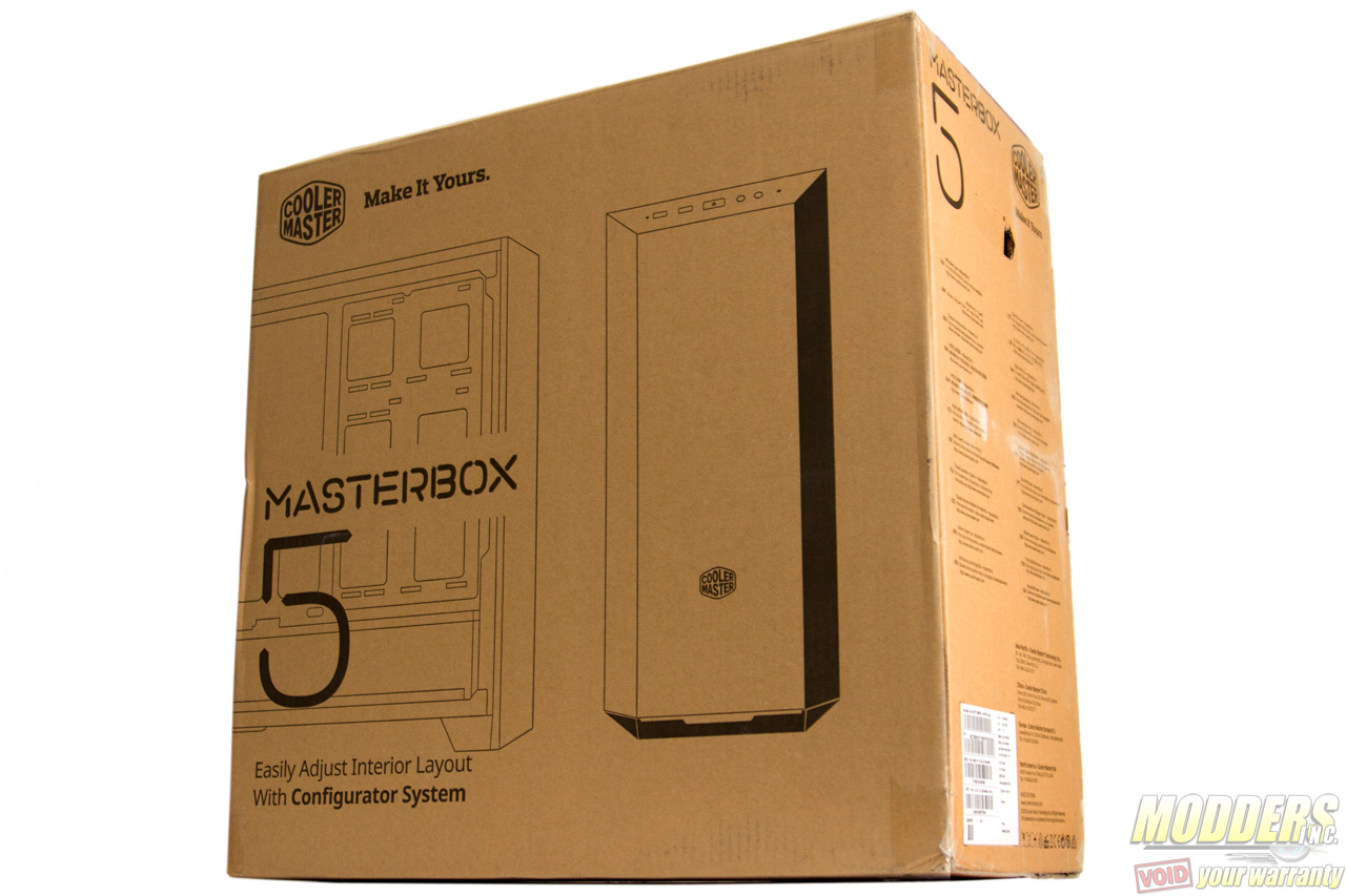 MasterBox 5 Canada Model