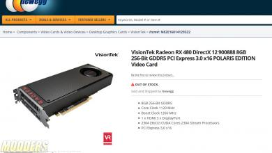 AMD Radeon RX 480 Spotted in NewEgg , Launching June 29 Radeon, rx 480, Video Card, VISIONTEK