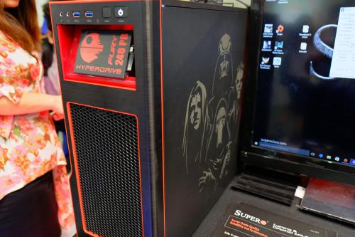 Supermicro Shows Their Dark Side with Star Wars-themed S5 Case at Computex Case, Chassis, Gaming, s5, Server, Supermicro 2