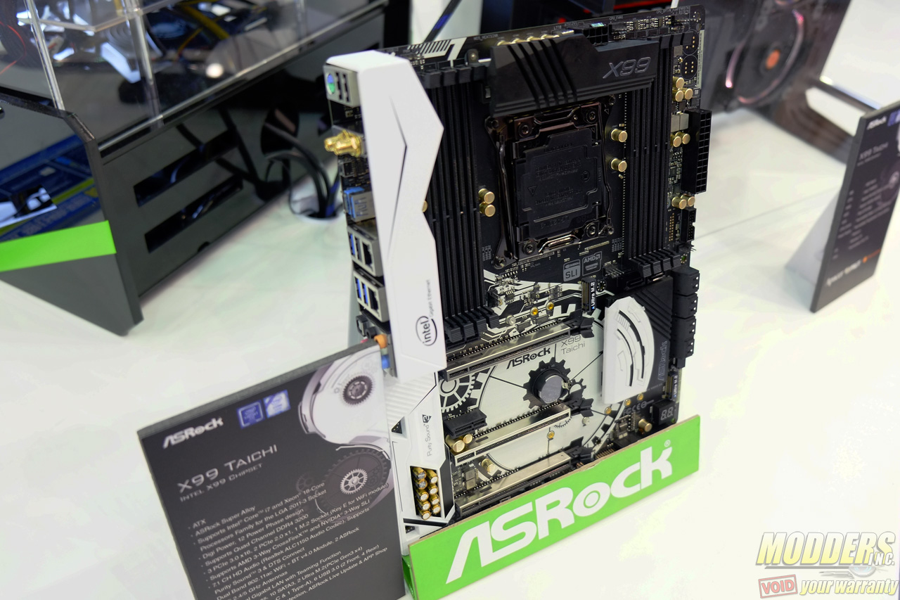 ASRock Unveils Gorgeous Taichi and Fatal1ty Motherboards at