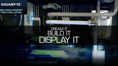 GIGABYTE #MOD2WIN Concept Build-Kit Winners Announced contest, Gigabyte, mod2win