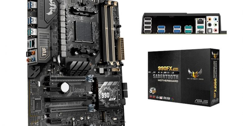 Photo of ASUS Jumps Back in the AM3+ Ring with New TUF Sabertooth 990FX R3.0 Motherboard