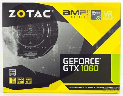 ZOTAC GeForce GTX 1060 AMP!