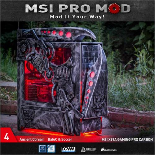 MSI Pro Mod Season 4 Voting Begins Case Mod, Motherboard, MSI, pro mod, season 4 4