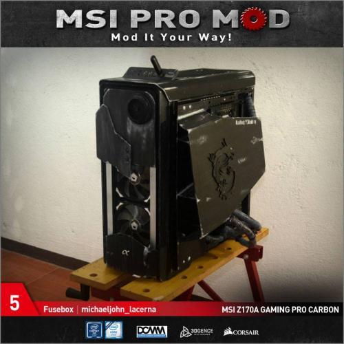 MSI Pro Mod Season 4 Voting Begins Case Mod, Motherboard, MSI, pro mod, season 4 5