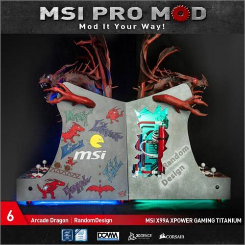 MSI Pro Mod Season 4 Voting Begins Case Mod, Motherboard, MSI, pro mod, season 4 6
