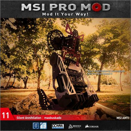 MSI Pro Mod Season 4 Voting Begins Case Mod, Motherboard, MSI, pro mod, season 4 11