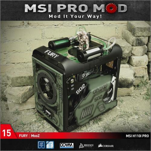 MSI Pro Mod Season 4 Voting Begins Case Mod, Motherboard, MSI, pro mod, season 4 15