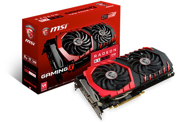 Photo of MSI Offers Up Four RX 480 Gaming Series Models with Twin Frozr VI Cooler