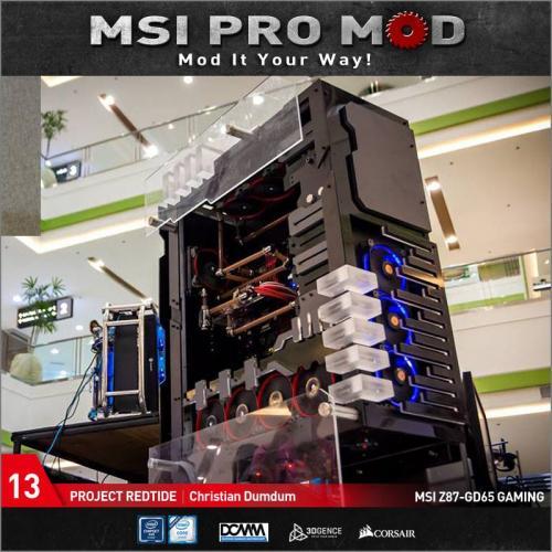 MSI Pro Mod Season 4 Voting Begins Case Mod, Motherboard, MSI, pro mod, season 4 13
