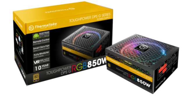 Thermaltake Toughpower DPS G RGB Gold Series Smart Power Supply Unit-with Packaging
