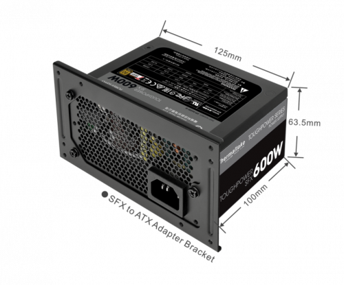 Compact Thermaltake Toughpower SFX Gold Series Power Supplies Now Available compact, power supply, sfx, Thermaltake 3