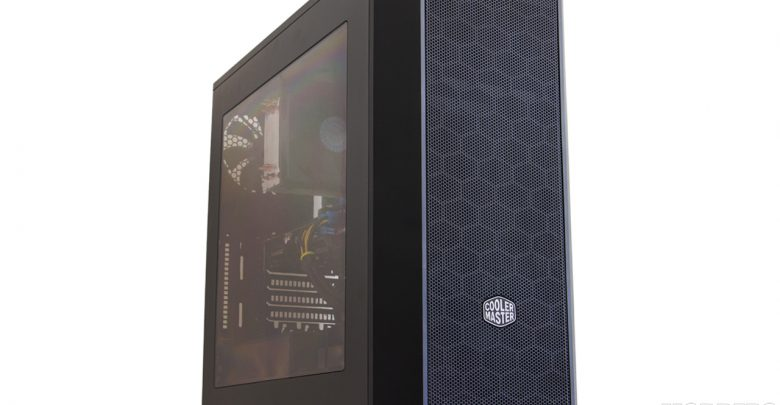 CM MasterBox 5 Windowed Black with MeshFlow Front Panel