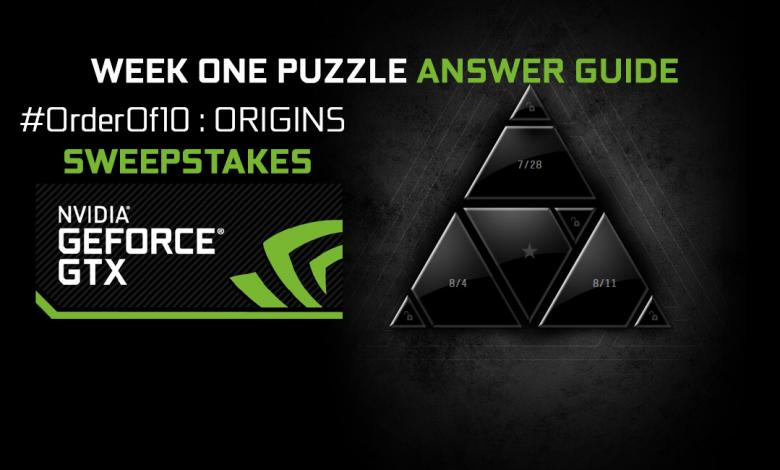 Photo of NVIDIA #OrderOf10 Origins Challenge Week 1 Answer Guide
