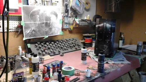Aerocool DS-230 Case Debuts at Gamescom Aerocool, airbrush, blue horse studios, Case, custom, ds-230, rlc, ron lee christianson, skyrim 3
