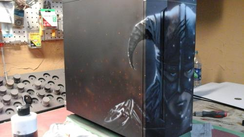 Aerocool DS-230 Case Debuts at Gamescom Aerocool, airbrush, blue horse studios, Case, custom, ds-230, rlc, ron lee christianson, skyrim 5