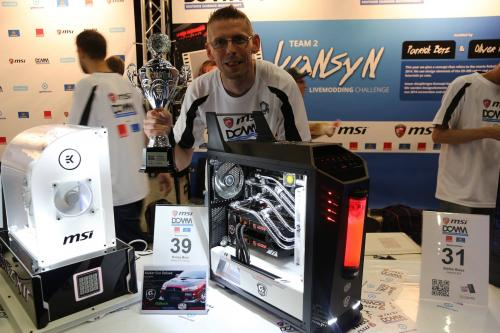 "Ronny Moor - ""Maker EVO Deluxe"" - 3rd Place CaseMods Category and ""Lightglass"" 3rd Place CaseCons Category"