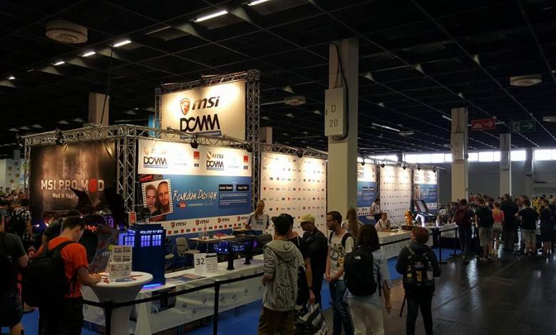 Photo of Casemods of DCMM @ Gamescom 2016