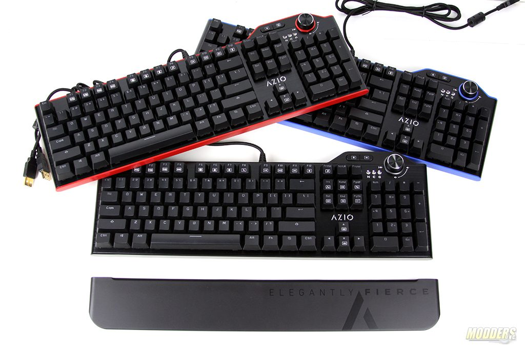 AZIO MGK L80 Mechanical Keyboard Lineup Review AZIO, Mechanical Keyboard, MGK L80 1
