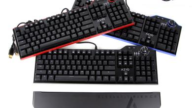 Photo of AZIO MGK L80 Mechanical Keyboard Lineup Review