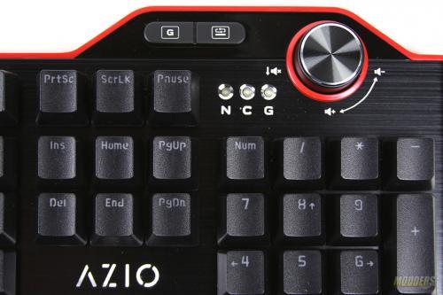 AZIO MGK L80 Mechanical Keyboard Lineup Review AZIO, Mechanical Keyboard, MGK L80 14