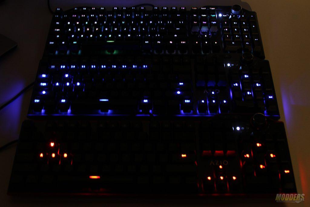 AZIO MGK L80 Mechanical Keyboard Lineup Review AZIO, Mechanical Keyboard, MGK L80 11
