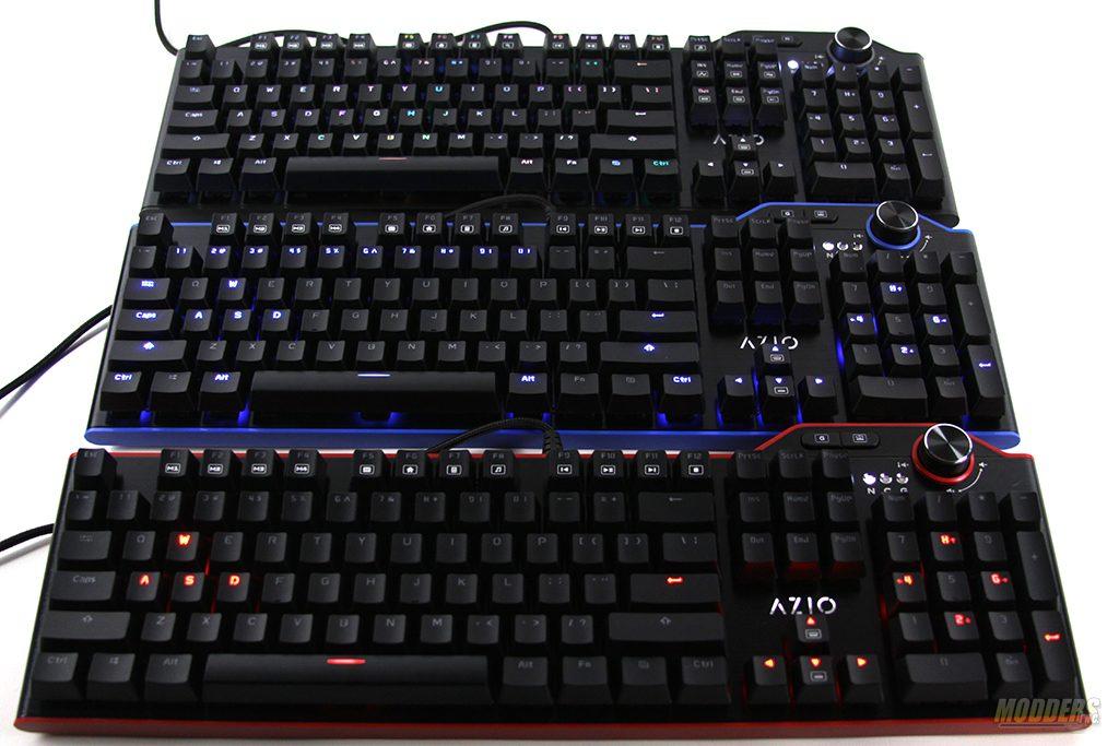 AZIO MGK L80 Mechanical Keyboard Lineup Review AZIO, Mechanical Keyboard, MGK L80 10