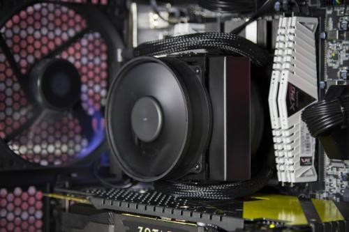 Cooler Master Announces Palm-sized MasterLiquid Maker 92 AIO CPU Cooler AIO, Cooler, Cooler Master, CPU, heatsink, masterliquid 7