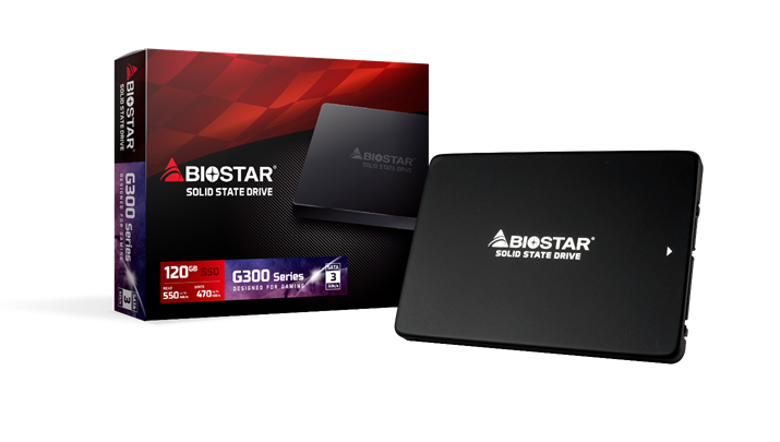 Photo of Biostar Expands to SSD Drives, Introduces Gaming G300 Series