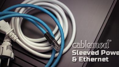 Photo of CableMod Now Offers Sleeved Power and Ethernet Cables