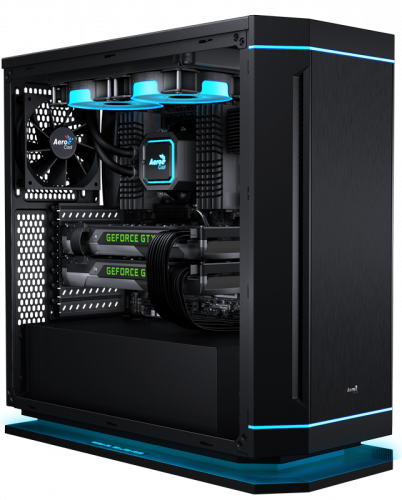 Aerocool DS-230 Case Debuts at Gamescom Aerocool, airbrush, blue horse studios, Case, custom, ds-230, rlc, ron lee christianson, skyrim 2