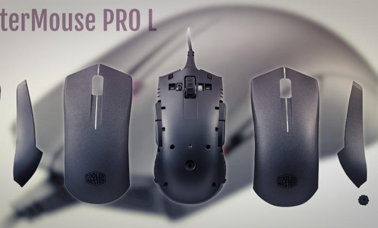 Photo of New Cooler Master MasterMouse Pro L Designed to be Highly Customizable