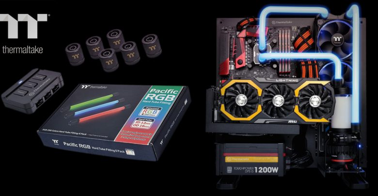Photo of Thermaltake Announces Pacific RGB LED Equipped Hard Tube Fittings