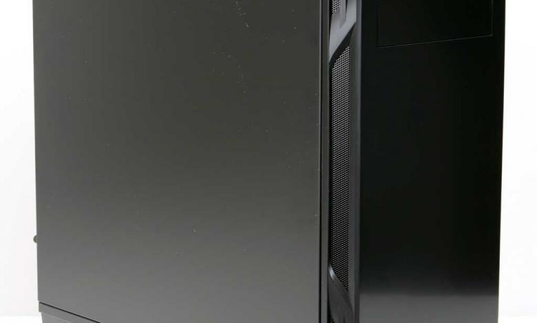 Photo of Lian Li Ebonsteel PC K6 Case Review